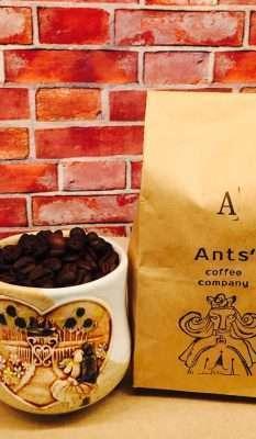 """船場パーキングビルの素敵なカフェ """"Ants' coffee company"""""""